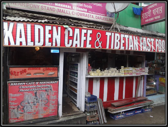 kalden cafe, tibetan food, darjeeling