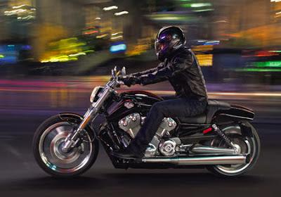 night motorbiking