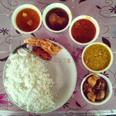 Bengali food, Fish and Rice
