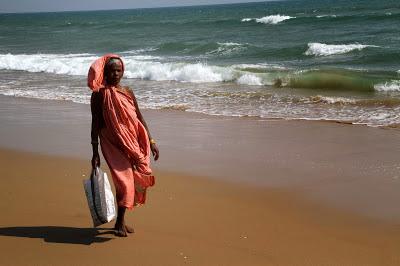 Local Odissi fisherwomen