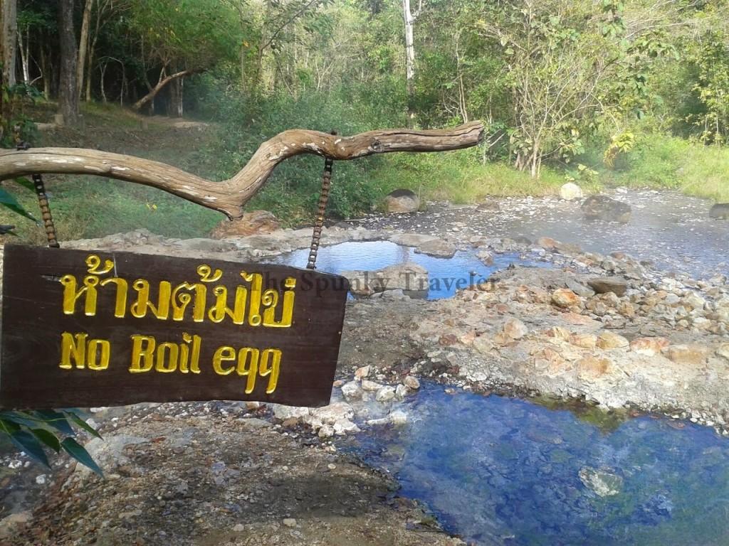 Sulfur springs thailand