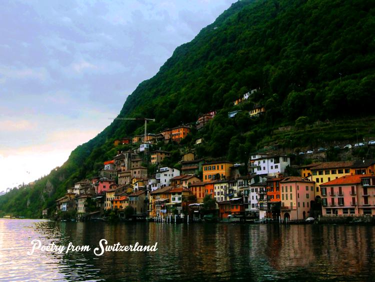 Gandria village Switzerland