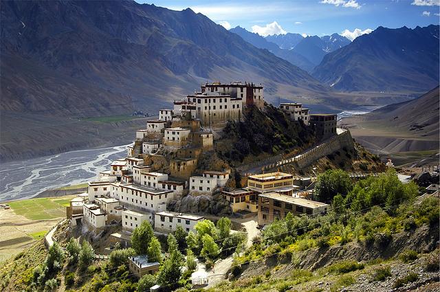 Ki monastery spiti bike ride