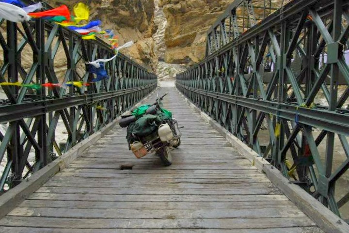 Motorcycling in Spiti valley