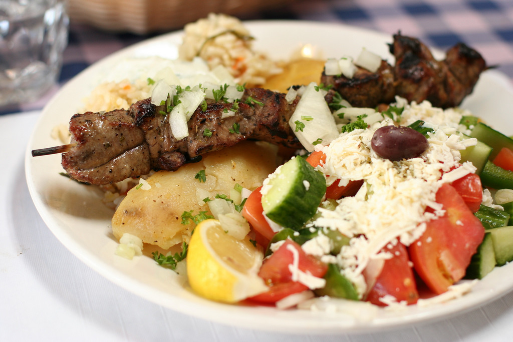 Greek Lamb Souvlaki, The Spunky Traveler, Visit Metora, Visit Greece, Places to see in Greece, Meteora travel guide