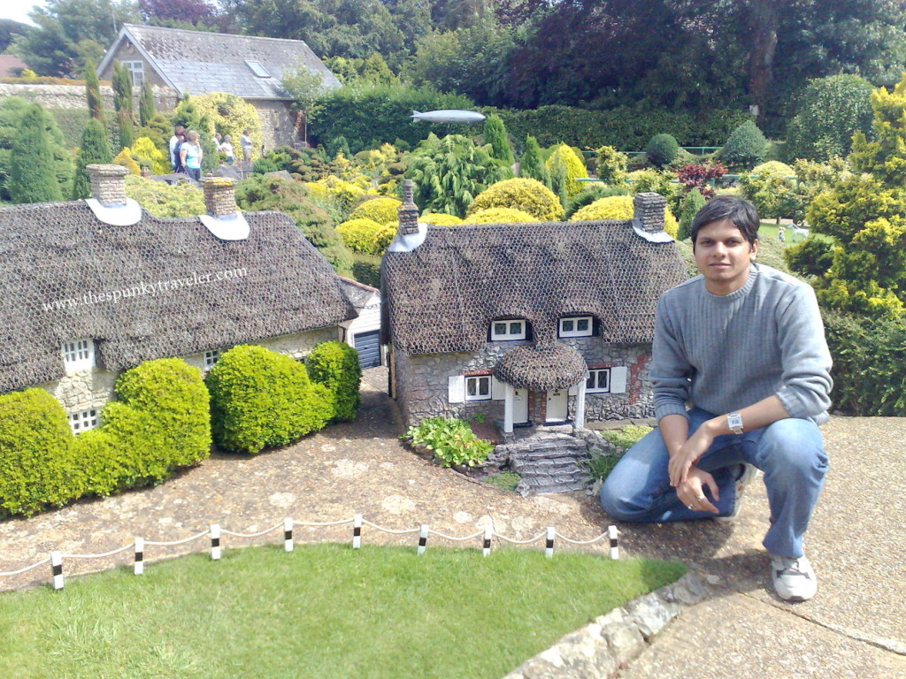 Isle of Wight, Miniature Godshill model village, VisitBritain, Shanklin village