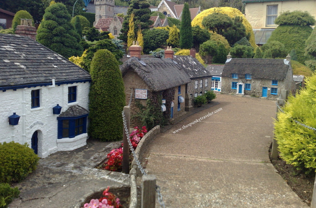 Isle of Wight, Miniature Godshill model village, VisitBritain