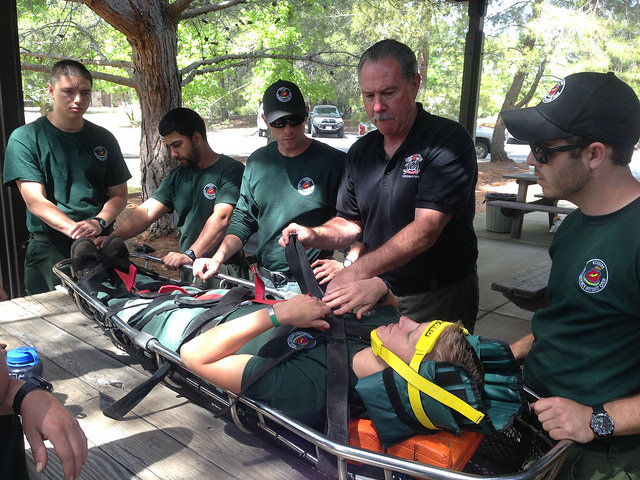 USFS medical and rescue training, United States Forest Service, Forest fire management in United States