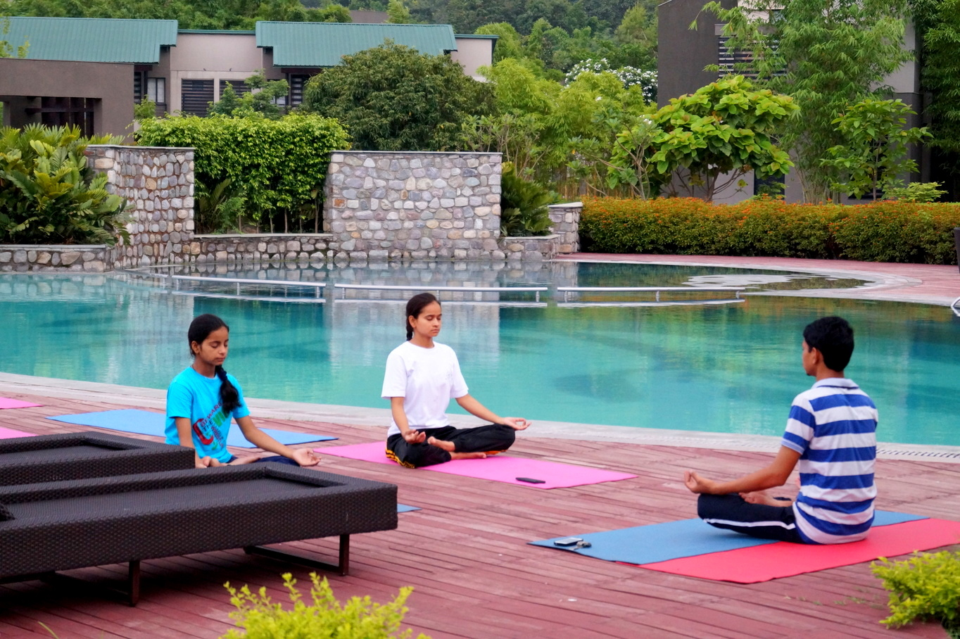 Meditation at Namah Resorts