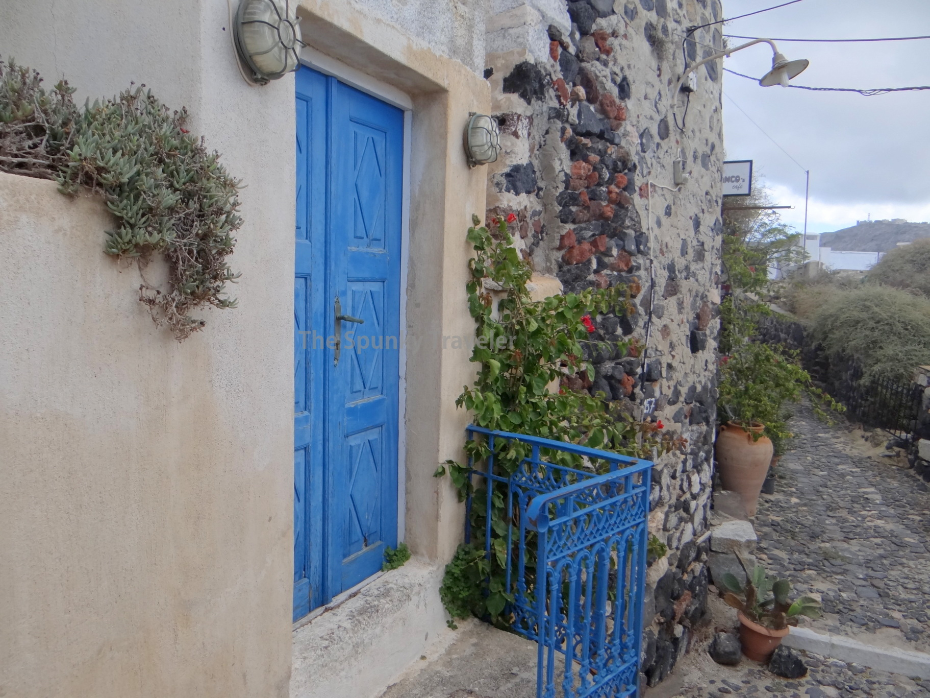 Streets of Pyrgos village